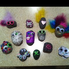 Pet rocks!  Fun crafty activity for older kids.