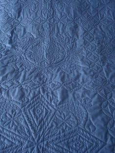 "This is my quilt ""Am I Blue"""