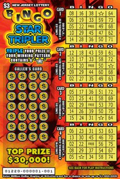 More Than $10.6 Million in Prizes! Approximately 5,520,000 BINGO STAR TRIPLER tickets are initially planned in this game. Click on the image to learn more! Lotto Games, Off Game, Scratch Off, Book Of Shadows, Bingo, How To Plan, Stars, Image, Sterne