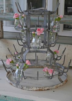 French Bottle Drying Rack -- someday when I am rich and have money to spare, I will have one of these <3