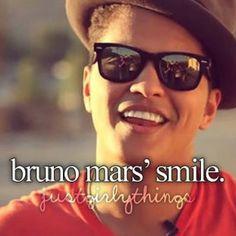Bruno Mar's smile  #justgirlythings