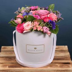 Send flowers or flower gift sets to someone special today. Send Flowers Online, Same Day Flower Delivery, Hat Boxes, Floral Arrangements, Bloom, Magic, Gifts, Products, Presents