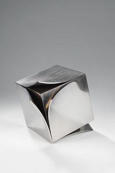 A Trip Between Impulses - nicoonmars: Erich Hauser Art Sculpture, Abstract Sculpture, Geometric Sculpture, Instalation Art, Cube Design, Schmuck Design, Art Object, Cubes, Art Plastique
