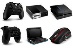 Gaming Gadgets Icons