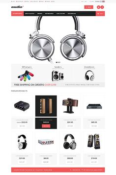 44 best ZenCart templates images on Pinterest | Website template ...