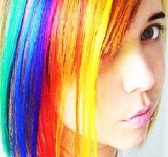I need my hair dyed neon!!!