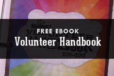 Free eBook: Customizable Volunteer Handbook