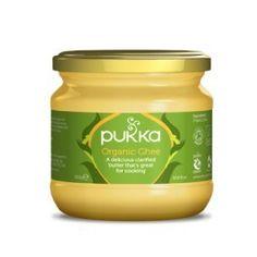 PUKKA bio masło klarowane GHEE 300g bio żywnośc w biotojestto.pl