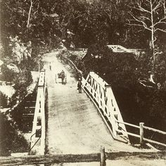 The Original Galston Gorge Bridge - Completed in 1893 #galstongorge