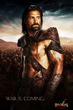 Crixus of Spartacus: War of the Damned