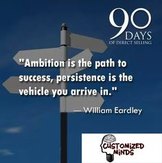 """""""Ambition is the path to success, persistence is the vehicle you arrive in.."""" #Startup #Entrepreneur"""