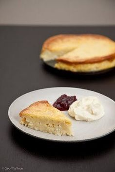 Good recipe for Swedish Ostkaka...cheesecake style