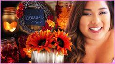 Tumblr Inspired Fall DIY Room Decor With Miss Remi Ashten!