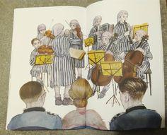 Il violino di Auschwitz scritto da Anna Lavatelli e illustrato da Cinzia Ghigliano | Figli moderni
