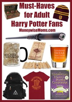 Have Harry Potter fans in your house? These gifts are perfect for adult Harry Potter fans, teens and tweens, and they're all available at Amazon!