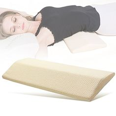 [Day Bed Ideas] Long Sleeping Pillow for Lower Back Pain,Multifunctional Memory Foam Orthopedic Lumbar Support Cushion for Hip,Knee,Spine Alignment and Sciatic Nerve Pain Relief * You can get more details by clicking on the image. Knee Pillow, Lumbar Pillow, Bed Pillows, Middle Back Pain, Lower Back Pain Relief, Back Support Pillow, Support Pillows, Nerve Pain, Sciatic Nerve