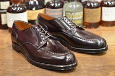 new Alden Barrie shoes by leather soul (cordovan leather) via @jorge Casanova