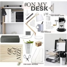 """""""On My Desk"""" by bellamarie on Polyvore"""