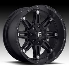 Fuel Hostage Series Wheel - - Bolt Pattern and - Backspacing - Offset - Matte Black For the Jeep! Jeep Wheels, Off Road Wheels, Truck Wheels, 20 Wheels, Rims And Tires, Wheels And Tires, Car Tyres, Truck Rims, 4x4 Rims