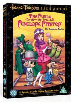 Hanna Barbera Cartoon: The Perils of Penelope Pitstop Hanna Barbera, Classic Cartoon Characters, Classic Cartoons, Looney Tunes, Film Download, Cartoon Shows, 3d Cartoon, Vintage Cartoon, Fantasy Movies