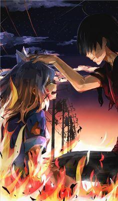 Araragi Koyomi / Black Hanekawa【Monogatari Series】