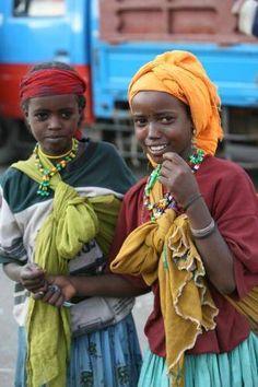 Young Women,Ethiopia