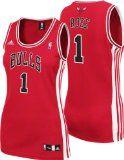 NBA Women's Chicago Bulls Derrick Rose Replica Jersey (Red, Small) - http://nbajerseygirls.com/nba-womens-chicago-bulls-derrick-rose-replica-jersey-red-small/