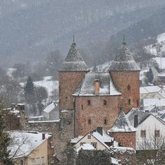 Bertradaburg im Schnee #snow #winter