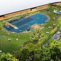 Work starts on Herzog & de Meuron's Naturbad Riehen swimming pool