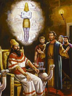 Daniel interpreta o sonho de Nabucodonosor Daniel 2:1-45