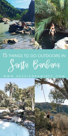Great ideas of things to do on your Santa Barbara California Vacation. Santa Barbara is a popular destination in CA and it's easy to see why. Visit Santa Barbara, Santa Barbara California, Santa Barbara Camping, Santa Barbara Hikes, Santa Barbara Wineries, California Vacation, California Dreamin', Goleta California, Northern California Travel