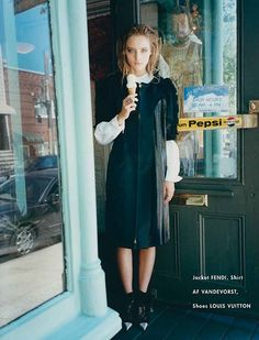 Amanda Norgaard for The Block A/W 2012 by Tung Walsh