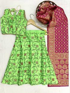 Order #AF KitKat Kid's Lehenga CHOLI₹1040 on WhatsApp number +919619659727 or ArtistryC.in Kids Lehenga Choli, Lehenga Designs, Girls Wear, Boy Or Girl, Gowns, How To Wear, Women's Clothes, Vestidos, Girl Clothing