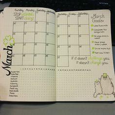 Planejamento mensal