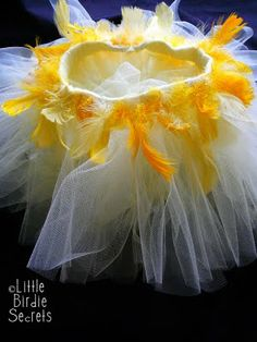 Little Birdie Secrets: Baby bird costume. Includes instructions on how to make a basic tutu.