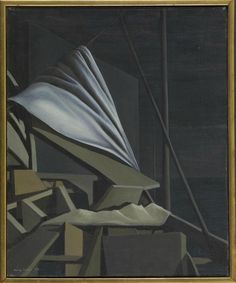 Kay Sage - 1954 - The Mask