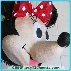 Realistic Minnie Mouse Pinata.