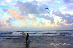 Surfer's Paradise at Bagasbas Beach in Daet, Camarines Norte Find Hotels, Travel Information, Philippines, Travel Guide, Attraction, Paradise, Vacation, Sunset, Beach