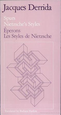 Jacques Derrida - Spurs: Nietzsche's styles