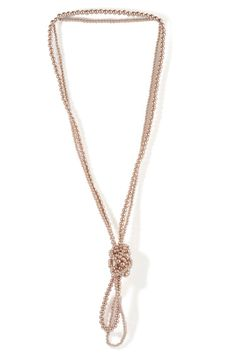 Accessorize with a few strings of pearls.