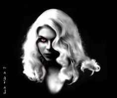 My friend drow by Magrad.deviantart.com on @deviantART
