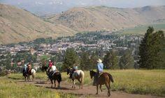 Horseback Riding at Snow King Mountain