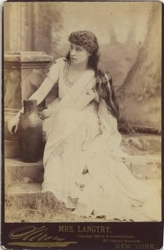 Lillie Langtry as Rosalind in As you like it