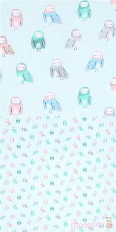 light turquoise cotton fabric with cute owls, Material: cotton, Fabric Type: smooth cotton fabric, Pattern Repeat: ca. Turquoise Fabric, Light Turquoise, Owl Fabric, Cotton Fabric, Modes4u, Owl Bird, Cute Owl, Owls, Owl