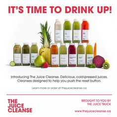 Introducing the Juice Cleanse. Just ordered my second round. LOVE this cleanse.