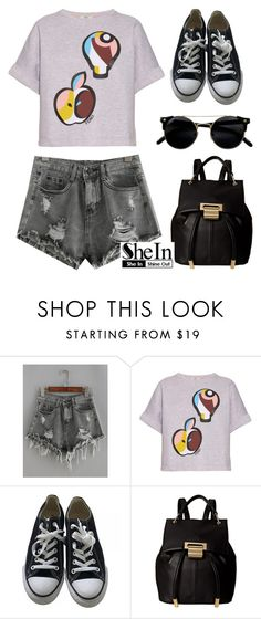 """""""New Shein Contest! Join!"""" by dora04 ❤ liked on Polyvore featuring Fendi, Converse and Ivanka Trump"""