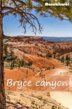 Découvrez le splendide parc de Bryce canyon #usa #roadtrip #brycecanyon #amerique #nature