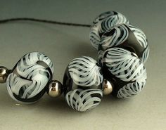 Black and White Simple Elegance by Catalina Glass by catalinaglass, $30.00