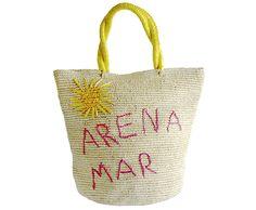 Sol Arena y Mar Handbag 100% Toquilla Straw - Sensi | Studio