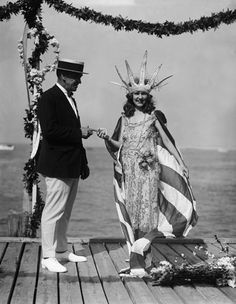 1922: la prima Miss America a ricevere la corona, Margaret Gorman